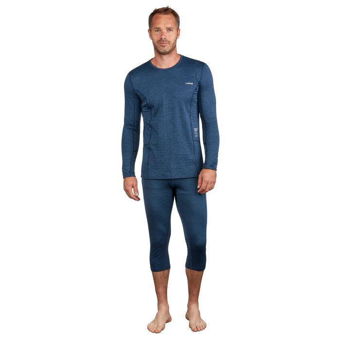 Skiunterwäsche Funktionsunterhose 500 Herren blau