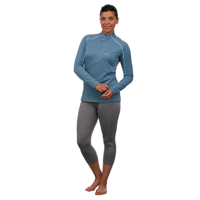 Sous-vêtement bas de ski femme 500 Gris