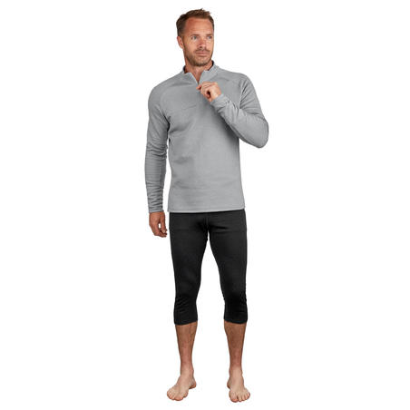 Men's Skiing 2nd Layer 500 - Grey