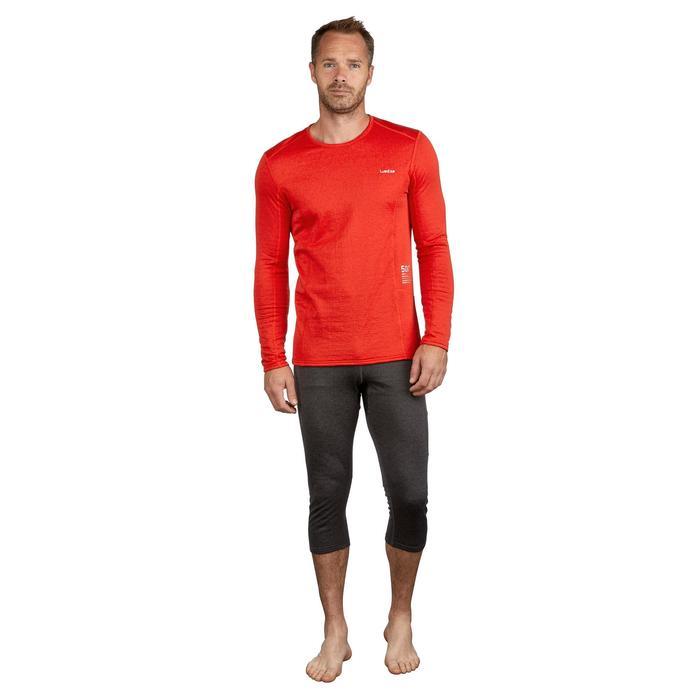 Sous-vêtement haut de ski homme 500 Rouge