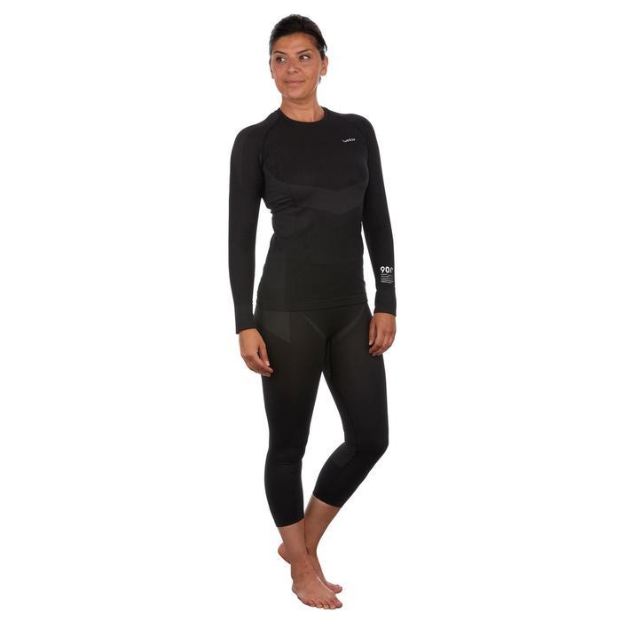 Skiunterwäsche Funktionshose 900 Damen schwarz