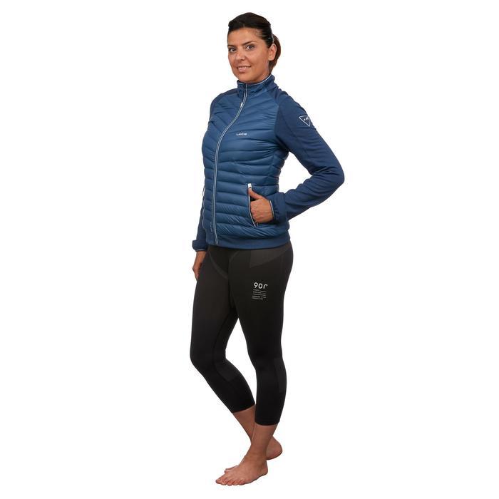 Midlayer voor skiën dames 900 blauw