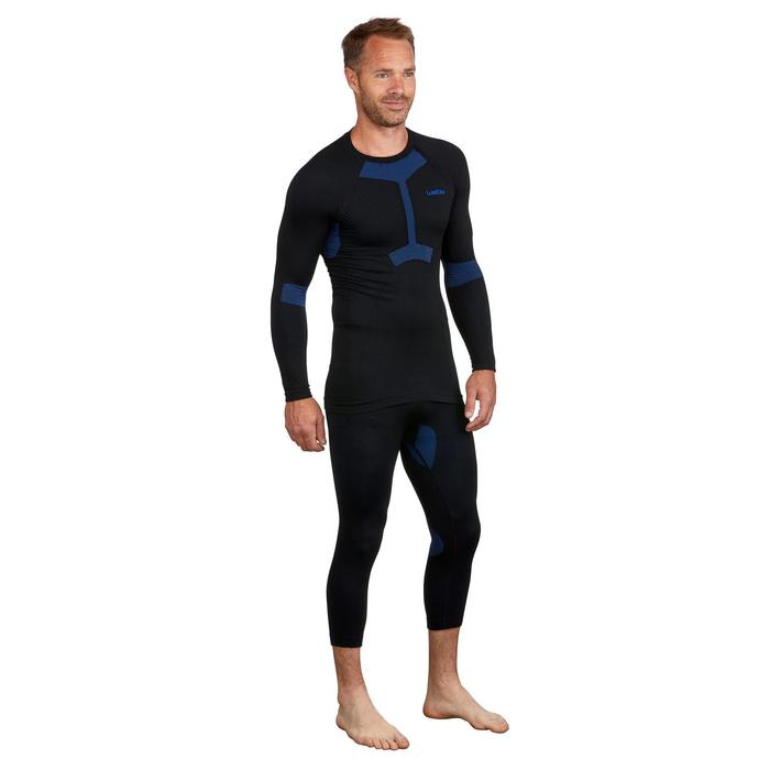 Thermoshirt voor skiën voor heren i-Soft zwart
