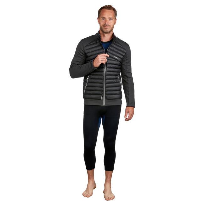 Men's skiing 2nd layer 900 - Black