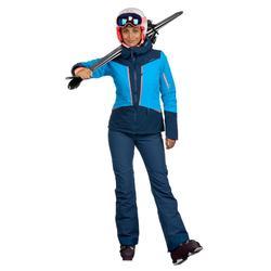 Skibroek voor dames 580 Slim blauw