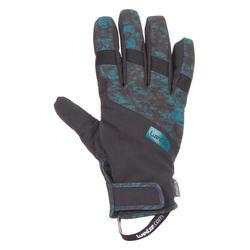 Guantes snowboard y esquí, dreamscape SNB GL SPRING, azul oscuro
