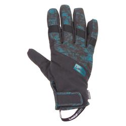 Luvas de Ski e Snowboard Impermeáveis GL 150 Light Azul Petróleo