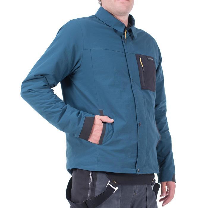 Coach jacket snowboarden en skiën SNB JKT voor heren petroleumblauw