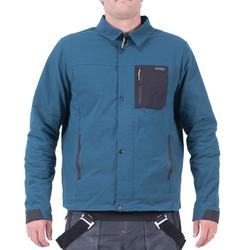 Men's Ski and Snowboard coach jacket SNB CJKT petrol