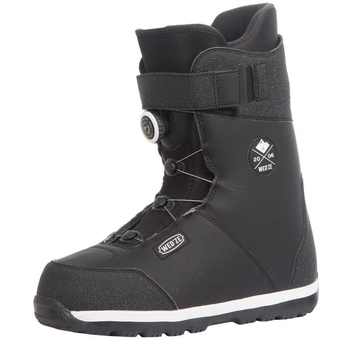 Chaussures de snowboard, all mountain, homme, Foraker 500 - Cable Lock 2Z noires