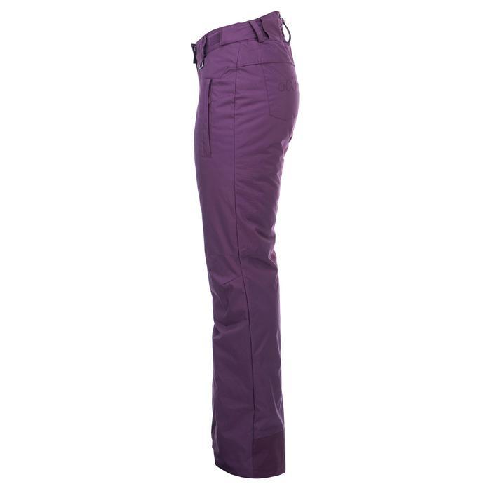 Pantalon de snowboard et de ski femme SNB PA 100 violet