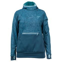 Skisweater voor dames Mid Warm 700 meerkleurig