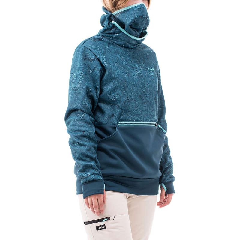 EQUIP. SNOWBOARD INTERMÉDIO MULHER DESP. DE NEVE - Sweatshirt Ski Mulher SNB Azul WEDZE - All Catalog