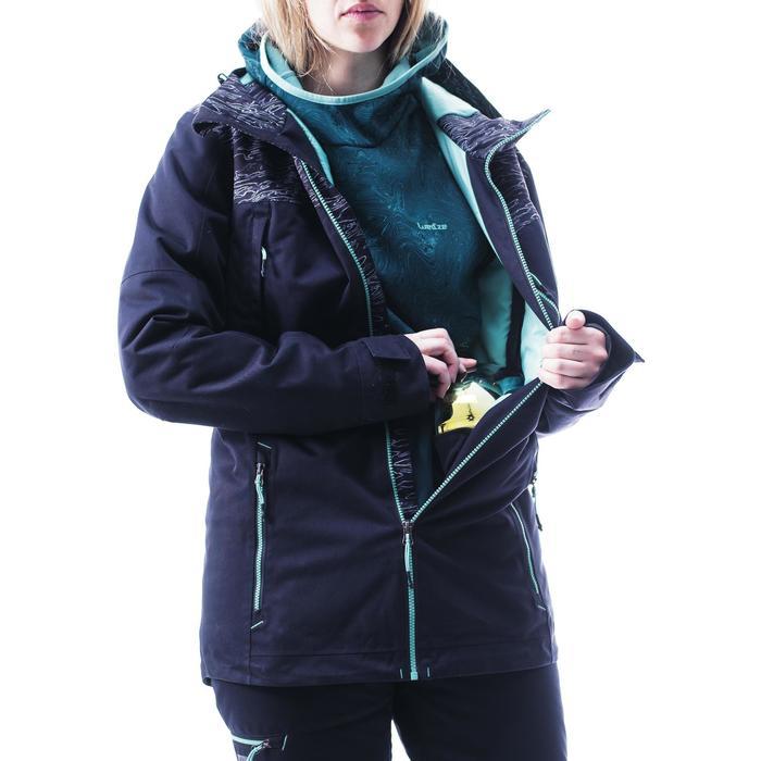 70847d5c75e Wed ze Veste de snowboard et de ski femme SNB JKT 500 camo
