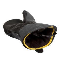 單/雙板滑雪連指手套SNB MI 500 - 黑色