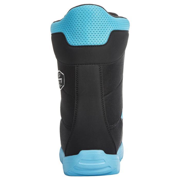 Snowboard Boots Fast Lock Indy 500 Kinder schwarz/blau