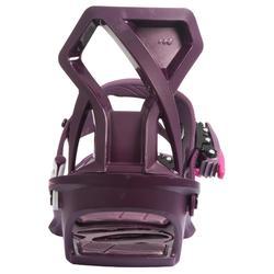 女款單板滑雪板固定器Serenity 100紫色