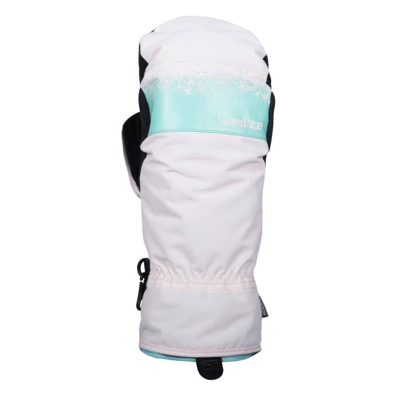 SNOWBOARD GLOVES Lyžování - SNB PALČÁKY 500 2V1  DREAMSCAPE - Lyžařské oblečení a doplňky