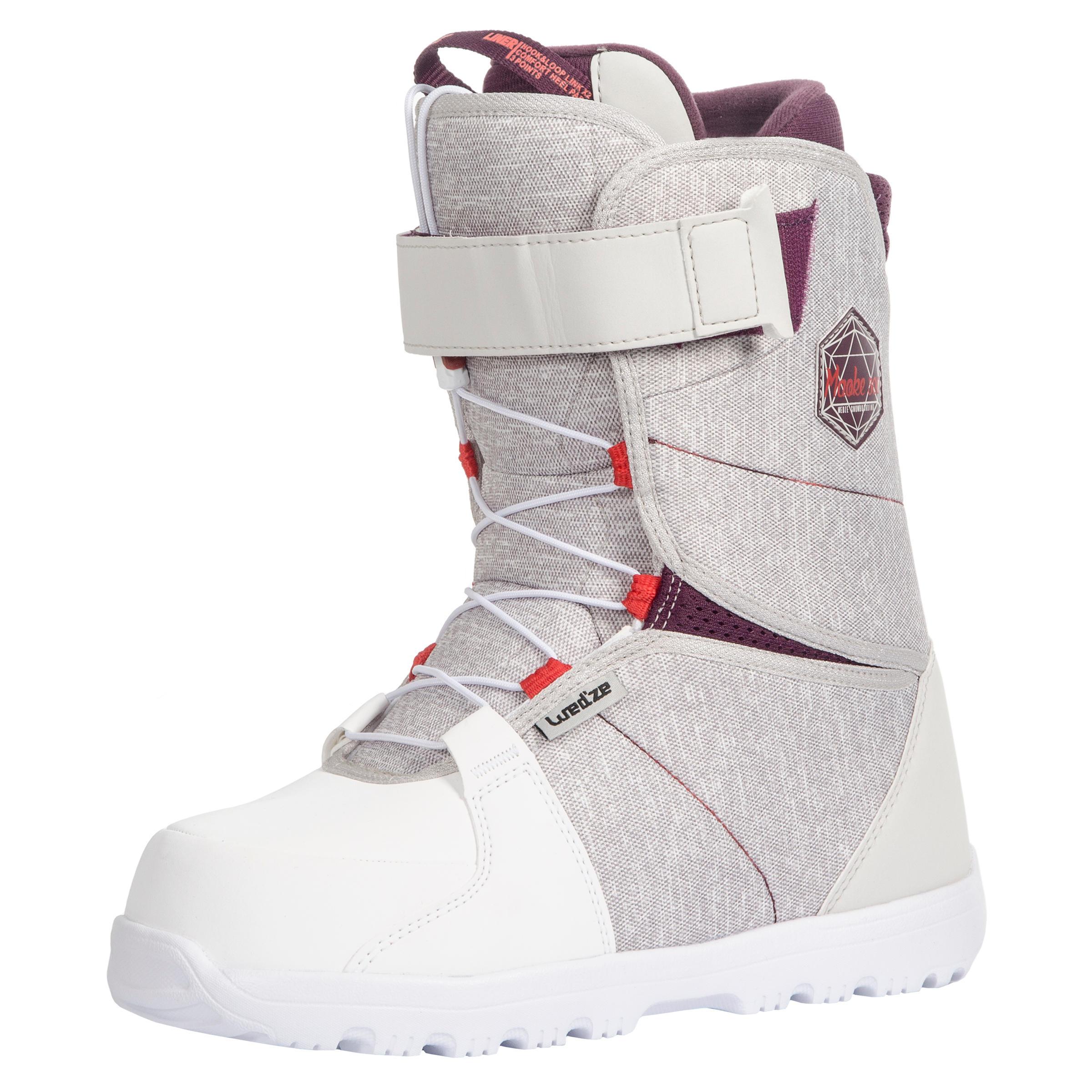 Damen Snowboardschuhe Fast Lock 2Z Maoke 300 All Mountain Damen weiß | 03608449879828