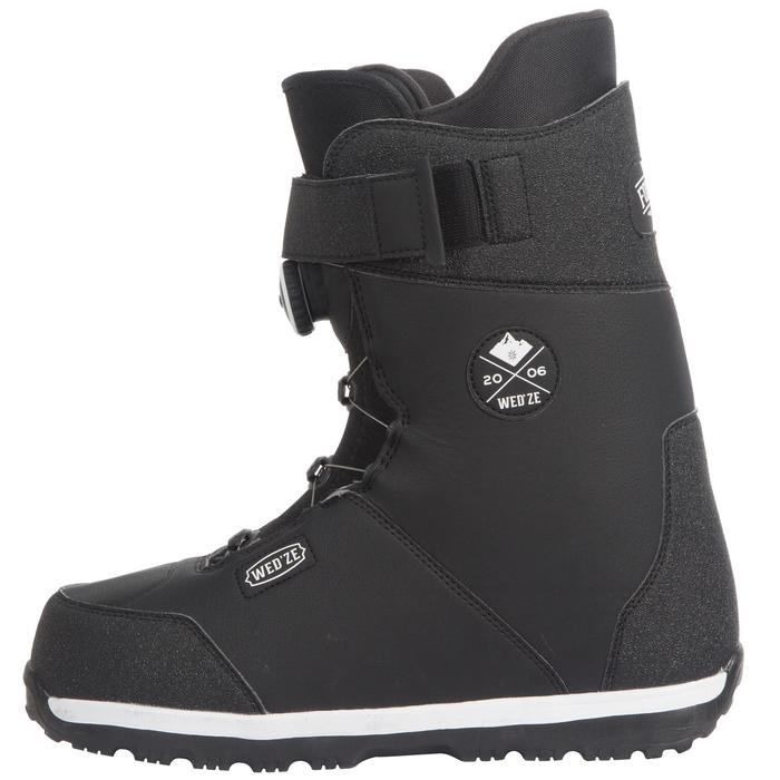 All mountain snowboardboots voor heren Foraker 500 - Cable Lock 2Z zwart