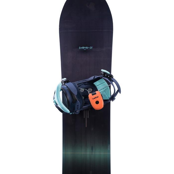 Cadenas antivol pour snowboard ou paire de skis