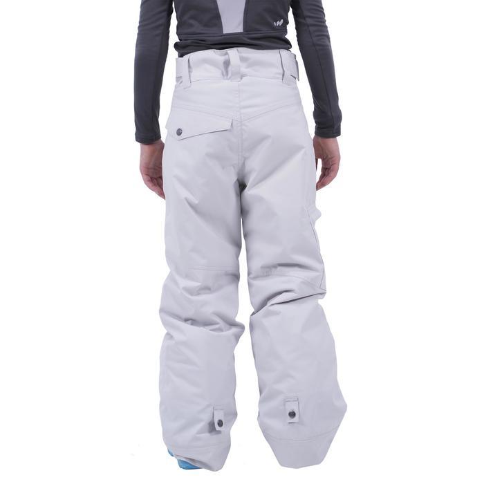 Snowboardhose Skihose SNB PA 500 Kinder Jungen grau