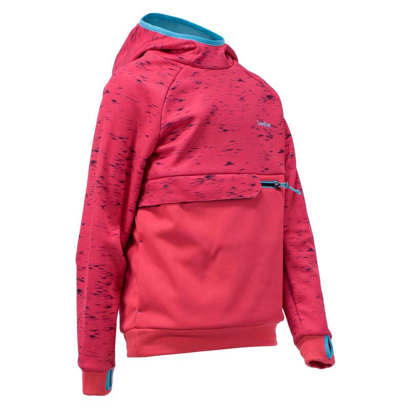 JUNIOR SNOWBOARD EQUIPMENT Clothing - Girl's SNB HDY - Strawberry Pk WEDZE - Tops