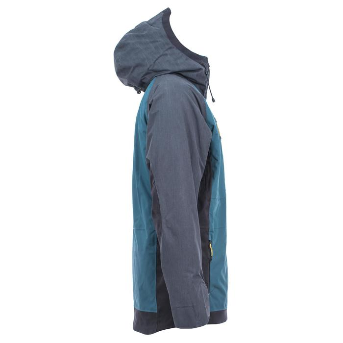Snowboard- en ski-jas voor heren SNB JKT 900 petroleumblauw