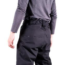 Pantalon de planche à neige et de ski homme SNB PA 500 noir