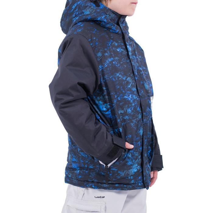 Snowboardjacke/Skijacke SNB JKT 500 Jungen dunkelblau