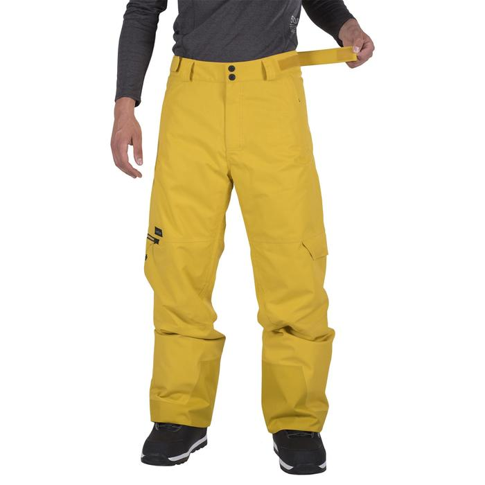 Pantalón snowboard y esquí hombre SNB PA 500 miel
