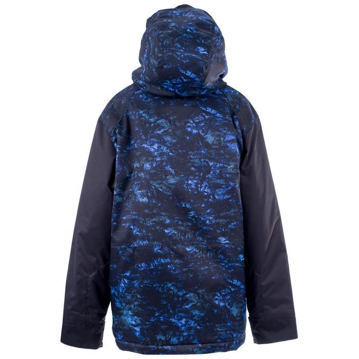 Veste de snowboard et ski SNB JKT 500 garçon bleu foncé