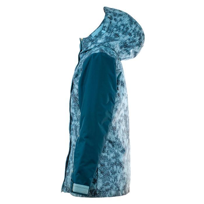 Veste de snowboard et ski SNB JKT 500 fille bleu