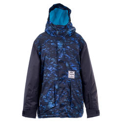 Boys' Snowboard and Ski Jacket SNB 500 - Dark Blue