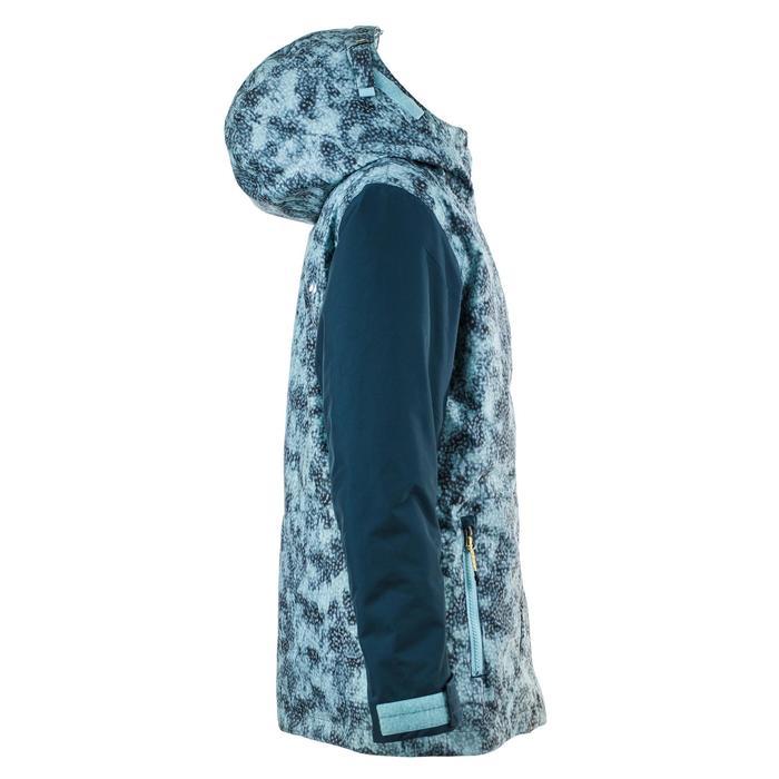 Ski- en snowboardjas SNB JKT 500 meisjes blauw