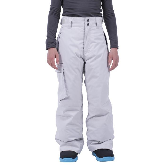 Snowboard broek / skibroek voor kind SNB PA 500 grijs