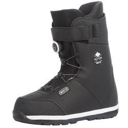 男款雪道上/雪道外單板滑雪鞋Foraker 500 - 黑色