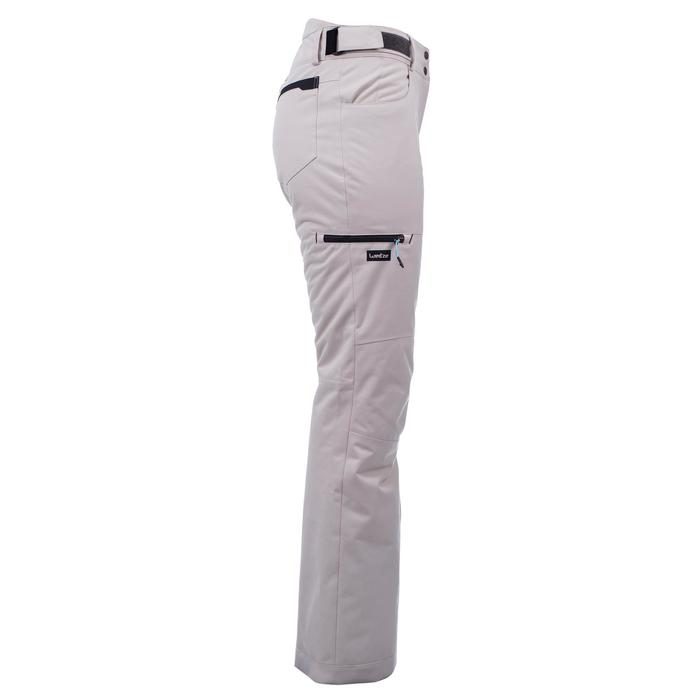 Women's Ski and Snowboard Trousers SNB PA 500 - Linen