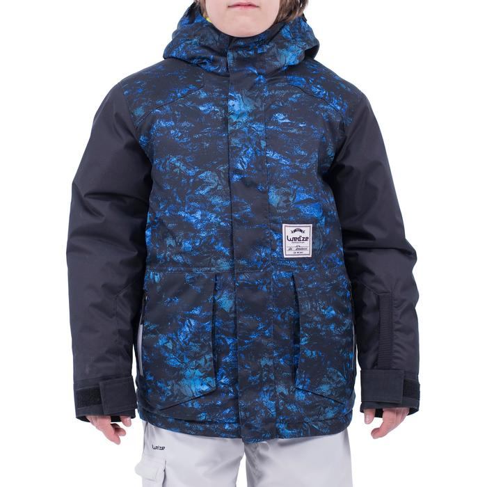 Chaqueta de snowboard y esquí SNB JKT 500 niño azul oscuro