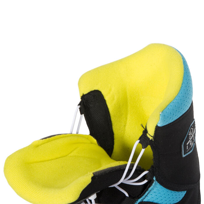 Kids' Snowboard Boots All-Mountain/Freestyle Indy 100 - Black Blue