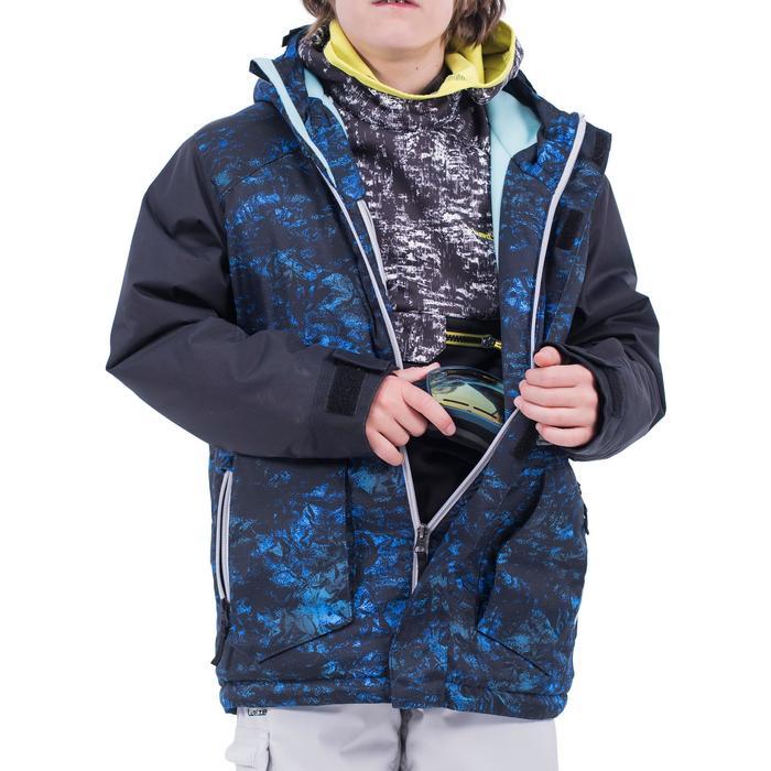 Snowboardjacke Skijacke 500 Kinder Jungen dunkelblau