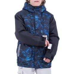 Snowboard- en ski-jas voor jongens SNB 500 donkerblauw