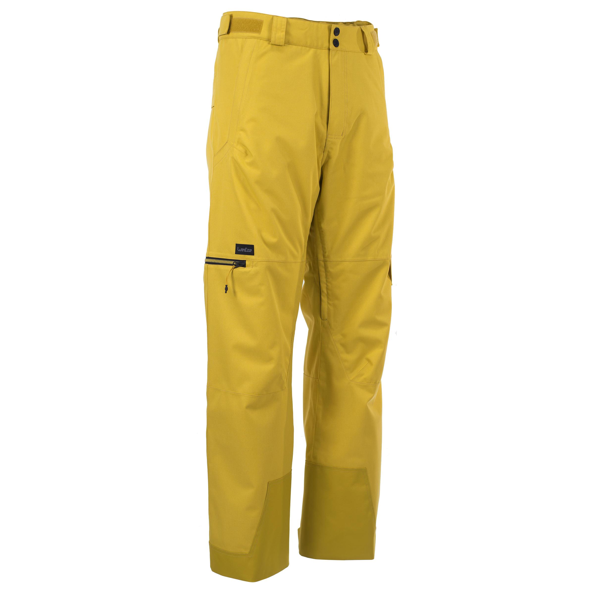 Snowboardhose SNB PA 500 Herren gelb   Sportbekleidung > Sporthosen > Snowboardhosen   Wed'ze