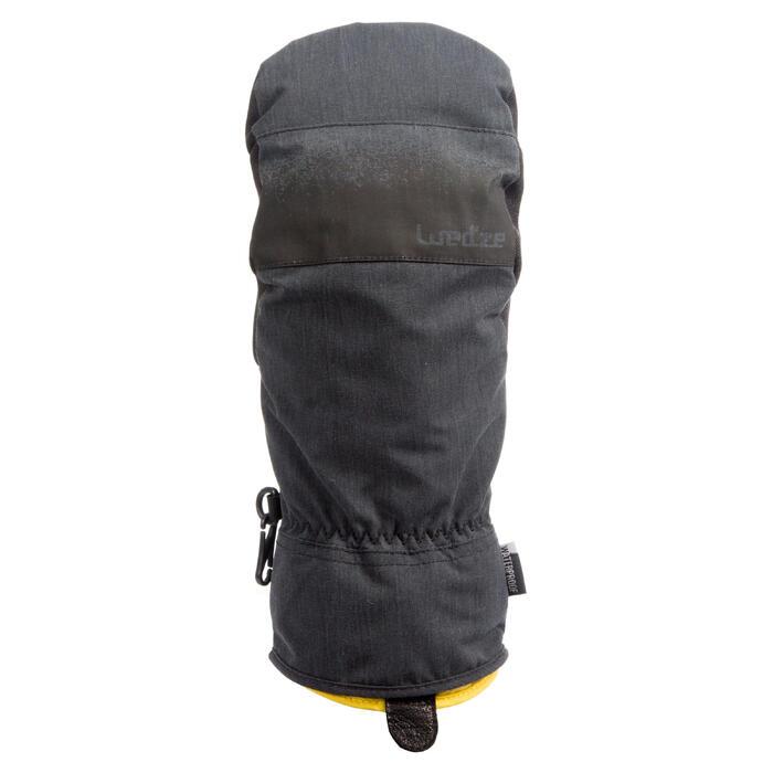 Fäustlinge Snowboard/Ski MI 500 2-in-1Erwachsene schwarz