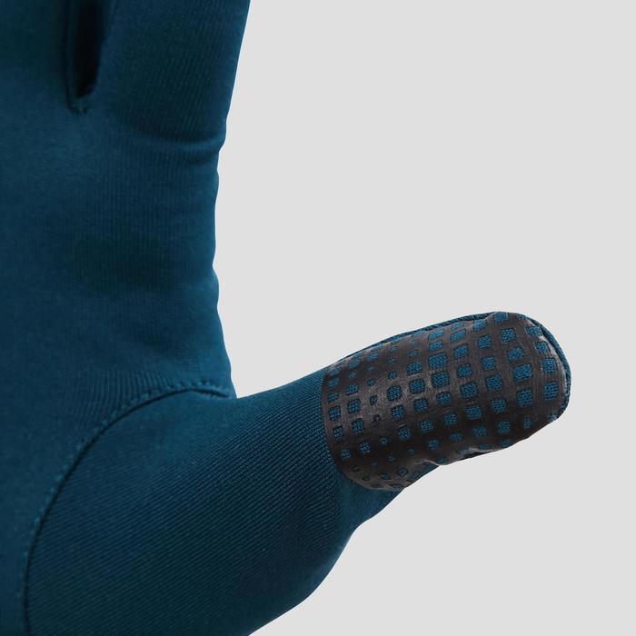 Laufhandschuhe Touch blaugrün