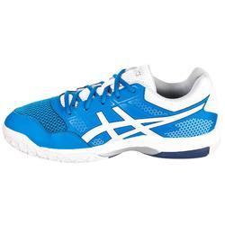 Badmintonschuhe Squashschuhe Gel Rocket 8 Herren blau/weiß