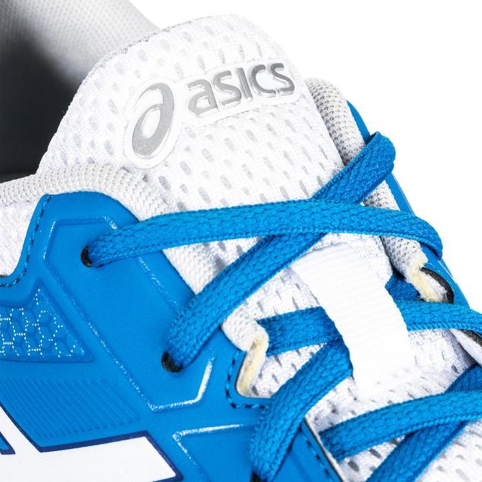 Zapatillas de Bádminton Squash Hombre Gel Rocket 8 Azul / Blanco