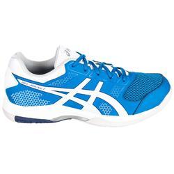 Badmintonschuhe Gel Rocket 8 blau/weiß