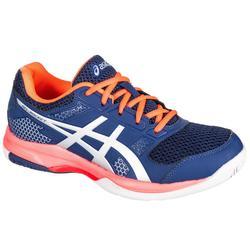 Zapatillas de Bádminton y Squash Asics Gel Rocket 8 Mujer azul y rosa