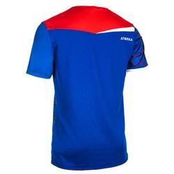 Maillot H500 de handball bleu et rouge